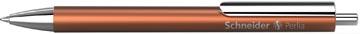 Schneider stylo bille Perlia XB, corps bronze