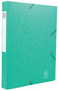 Exacompta Boîte de classement Cartobox dos de 4 cm, vert, épaisseur 7/10e