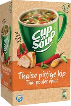 Cup-a-Soup thai spicy chicken, pak van 21 zakjes