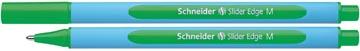 Schneider Stylo bille Slider Edge pointe médium, vert