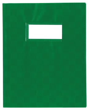 Schriftomslag ft 23 x 30 cm, groen