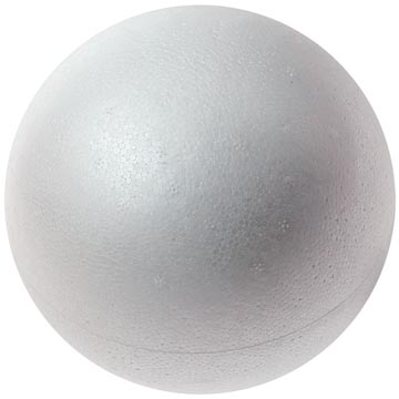 Bouhon Boules en polystyrène diamètre: 50 mm, sachet de 10 pièces