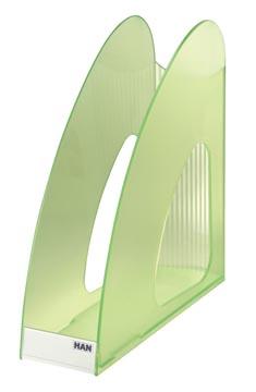Han tijdschriftenhouder Twin transparant groen