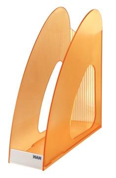Han porte-revues Twin orange transparent