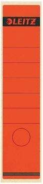 Leitz rugetiketten ft 6,1 x 28,5 cm, rood