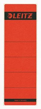 Leitz étiquettes de dos ft 6,1 x 19,1 cm, rouge