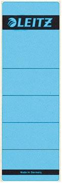 Leitz étiquettes de dos ft 6,1 x 19,1 cm, bleu