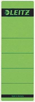 Leitz zelfklevende rugetiketten, ft 61 x 191 mm, groen, pak van 10 stuks