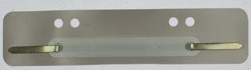 Fixe-dossiers, gris, boîte de 100 pièces
