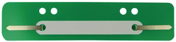 Fixe-dossiers, vert, boîte de 100 pièce