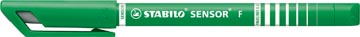 STABILO SENSOR fineliner, 0,3 mm, vert