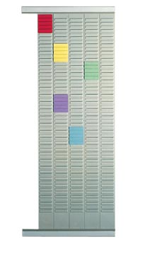 Nobo planbordpaneel index 4, 32 vakjes, ft 66 x 12,8 cm