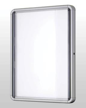 Nobo vitrine vitrine intérieure, pour 6 x ft A4 (ft 69,2 x 75,2 x 3,7 cm)