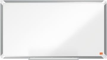 Nobo Premium Plus Widescreen magnetisch whiteboard, gelakt staal, ft 71 x40 cm