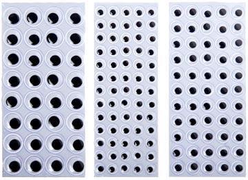 Bouhon yeux mobiles mix de 8 mm, 10 mm et 15 mm