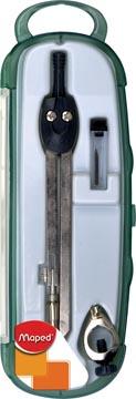 Maped compas Start coffret 3 pièces: 1 compas Start, 1 bague universelle et 1 étui-mines