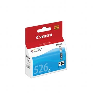 Canon inktcartridge CLI-526C, 462 pagina's, OEM 4541B010, met beveiligingsysteem, cyaan