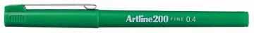 Feutre Artline 200 vert