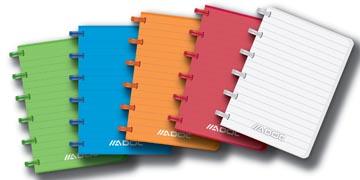 Adoc carnet de notes Colorlines, ft A6, ligné, couleurs assorties