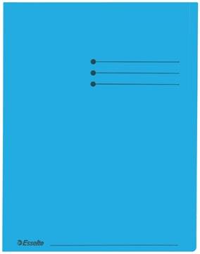 Esselte chemise de classement, bleu, paquet de 100 pièces