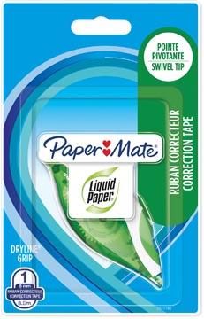 Paper Mate dérouleur de correction Liquid Dryline Grip, vert, sous blister