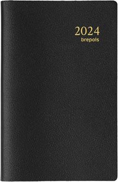 Brepols agenda Delta Genova 6 langues, noir, 2022