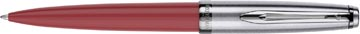 Waterman balpen Embleme Red Chrome Trim met medium punt