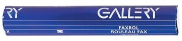 Gallery bobines pour télécopieurs ft 210 mm x 15 m, mandrin 12 mm