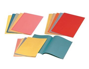 Esselte chemise de classement bleu, papier de 80 g/m², paquet de 250 pièces