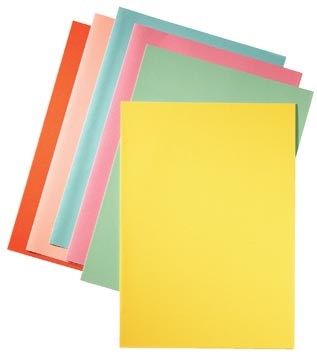 Esselte chemise de classement jaune, papier de 80 g/m², paquet de 250 pièces