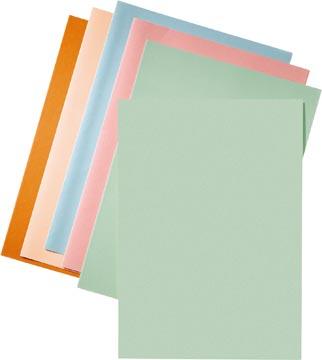 Esselte chemise de classement vert, papier de 80 g/m², paquet de 250 pièces