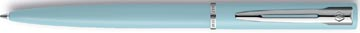 Waterman stylo bille Allure pastel pointe moyenne, dans une boîte cadeau, bleu