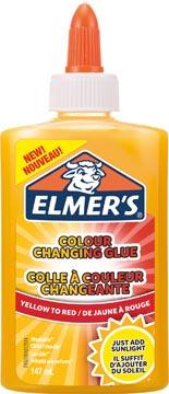 Elmer's colle liquide magique flacon de 147 ml, jaune/rouge