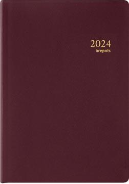 Brepols agenda Armada Seta 4 langues, bordeaux, 2022