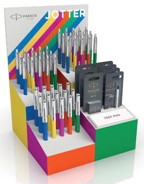 Parker Jotter Originals présentoir de 51 pièces en couleurs assorties