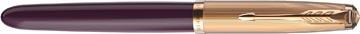 Parker 51 Premium vulpen medium, Plum GT