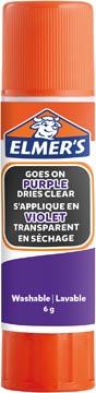 Elmer's verdwijnende lijmstick van 6 g, blister van 3 stuks, paars