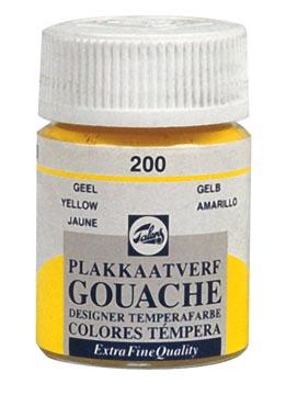 Talens gouache Extra Fine flacon de 16 ml, jaune