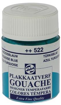 Talens gouache Extra Fine flacon de 16 ml, bleu turquoise