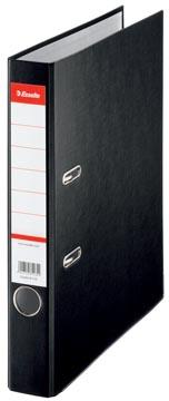 Esselte classeur à levier, en carton, ft A4, dos de 7,5 cm, noir