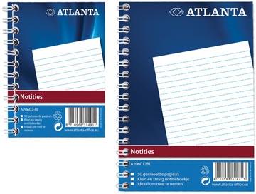 Atlanta by Jalema notitieboekje ft A6, blauw