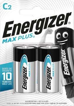 Energizer piles Max Plus C, blister de 2 pièces