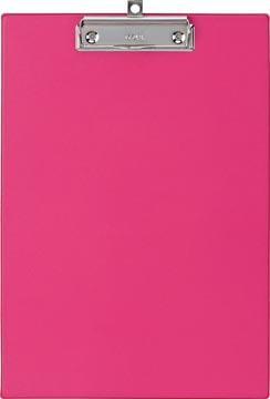 Maul klemplaat, uit PP, voor ft A4, roze