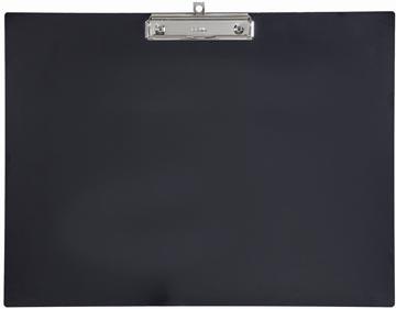 Maul klemplaat, kunststof, voor ft A3, liggend, zwart