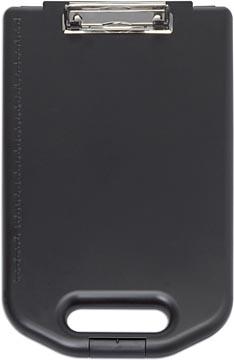 Maul plaque à pince avec compartiment de rangement Large, en PP, pour ft A4, noir