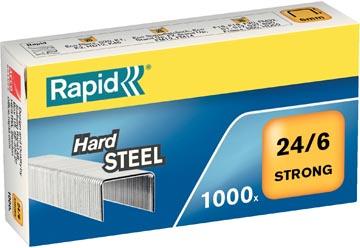 Rapid Nietjes 24/6, staal, doos van 1.000 nietjes