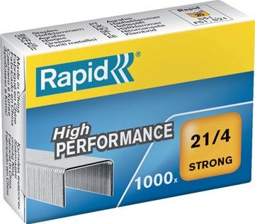 Rapid Agrafes 21/4, boîte de 1.000 agrafes