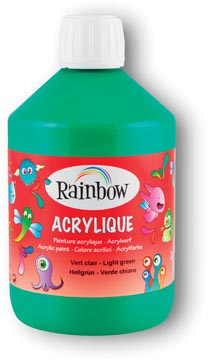 Rainbow peinture acrylique, flacon de 500 ml, vert foncé
