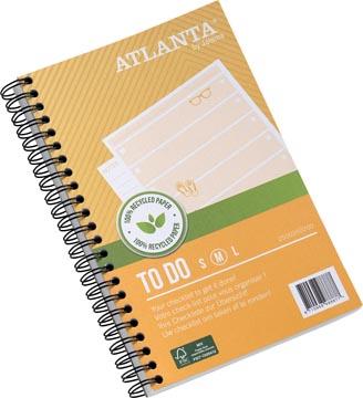 Atlanta by Jalema carnet de notes To Do 'Summer' ft 125 x 195 mm, 200 pages, paquet de 2 pièces