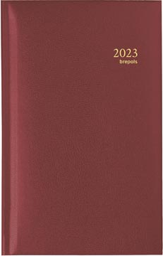 Brepols agenda Interplan Lima 6 langues, bordeaux, 2022